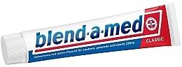 Düfte, Parfümerie und Kosmetik Zahnpasta Classic mit Aktiv -Fluorid - Blend-a-med Classic Toothpaste