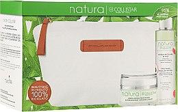 Düfte, Parfümerie und Kosmetik Gesichtspflegeset - Collistar Natura (Gesichtscreme 50ml + Mizellenwasser 150ml + Kosmetiktasche)