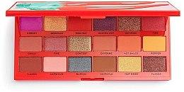 Düfte, Parfümerie und Kosmetik Lidschatten-Palette - Makeup Revolution I Heart Revolution Tasty Palette Chilli