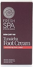 Düfte, Parfümerie und Kosmetik Tief pflegende Hand- und Fußcreme - Natura Siberica Fresh Spa Kam-Chat-Ka Tunaicha Foot Cream
