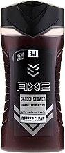 Düfte, Parfümerie und Kosmetik 3in1 Duschgel für Körper, Haar und Gesicht - Axe Carbon Shower Gel
