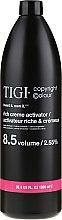 Entwicklerlotion 2,55% - TIGI Colour Activator 8.5vol / 2.55% — Bild N1