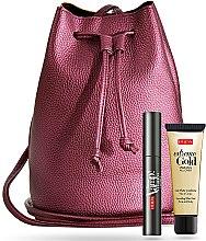 Düfte, Parfümerie und Kosmetik Make-up Set - Pupa (Wimperntusche 9ml + Gesichts- und Körpergel 25ml + Schultertasche)