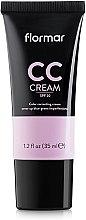 Düfte, Parfümerie und Kosmetik CC Creme gegen dunkle Augenringe SPF 20 - Flormar CC Cream Anti-Dark Circles
