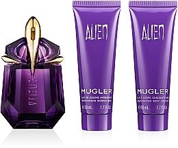 Düfte, Parfümerie und Kosmetik Mugler Alien - Duftset (Eau de Parfum 30ml + Körperlotion 50ml + Duschgel 50ml)