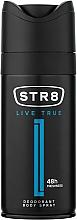 Düfte, Parfümerie und Kosmetik STR8 Live True - Deospray