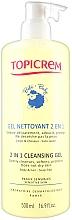 Düfte, Parfümerie und Kosmetik 2in1 Reinigungsgel für Körper und Haar - Topicrem Soins Bebe Bio Gel Nettoyant