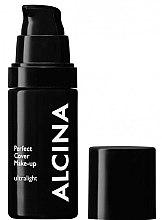 Düfte, Parfümerie und Kosmetik Foundation mit hoher Deckkraft SPF 15 - Alcina Perfect Cover Make-up