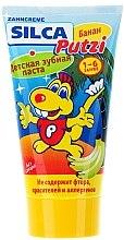 Düfte, Parfümerie und Kosmetik Fluoridfreie Kinderzahnpasta mit Bananengeschmack 1-6 Jahre - Silca Putzi