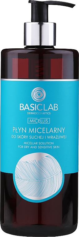 Mizellenwasser für trockene und empfindliche Haut - BasicLab Dermocosmetics Micellis