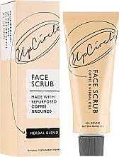 Düfte, Parfümerie und Kosmetik Kaffee-Gesichtspeeling mit Kräuterölen - UpCircle Coffee Face Scrub Herbal Blend