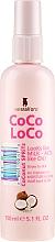 Düfte, Parfümerie und Kosmetik Pflegendes Haarspray mit Kokosöl - Lee Stafford Coco Loco Coconut Spritz