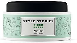 Düfte, Parfümerie und Kosmetik Modellierende Haarpaste Leichter Halt - Alfaparf Milano Style Stories Fiber Paste Light Hold