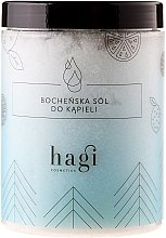 Düfte, Parfümerie und Kosmetik Badesalz mit ätherischem Tannenöl - Hagi Bath Salt