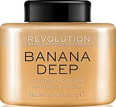 Düfte, Parfümerie und Kosmetik Bananen-Puder - Makeup Revolution Banana Deep Baking Powder