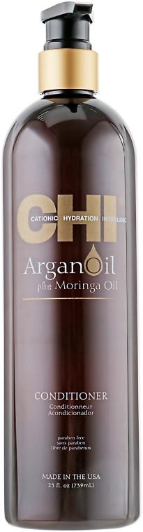 Pflegende und schützende Haarspülung mit Moringa- und Arganöl - CHI Argan Oil Conditioner — Bild N3