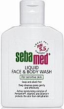 Düfte, Parfümerie und Kosmetik Gesichts- und Körperwaschlotion für empfindliche Haut - Sebamed Liquid Face and Body Wash