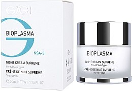 Pflegende Nachtcreme - Gigi Bioplasma Night Cream Supreme — Bild N1