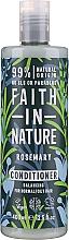 Düfte, Parfümerie und Kosmetik Conditioner für normales und fettiges Haar mit Rosmarin - Faith in Nature Rosemary Conditioner