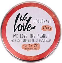 Düfte, Parfümerie und Kosmetik Natürliche Deo-Creme Sweet & Soft - We Love The Planet Deodorant Sweet & Soft