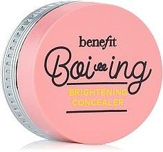 Düfte, Parfümerie und Kosmetik Aufhellender Gesichtsconcealer - Benefit Boi-Ing Brightening Concealer