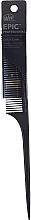 Düfte, Parfümerie und Kosmetik Haarkamm schwarz - Wet Brush Pro Epic Carbonite Tail Comb
