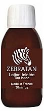 Düfte, Parfümerie und Kosmetik Tonisierende getönte Lotion für Menschen mit Vitiligo oder weißen Flecken auf der Haut - Zebratan