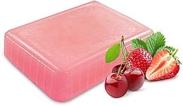 Düfte, Parfümerie und Kosmetik Kosmetisches Paraffin mit Erdbeer- und Kirschduft - NeoNail Professional