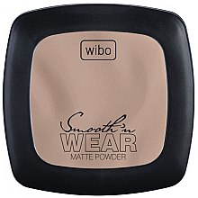 Düfte, Parfümerie und Kosmetik Mattierendes Kompaktpuder - Wibo Smooth'n Wear Matte Powder