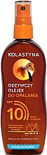 Düfte, Parfümerie und Kosmetik Wasserfestes Bräunungsöl SPF 10 - Kolastyna