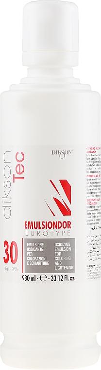 Entwicklerlotion 30 Vol (9%) - Dikson Tec Emulsiondor Eurotype 30 Volumi