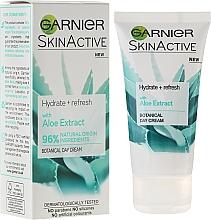 Düfte, Parfümerie und Kosmetik Feuchtigkeitsspendende und erfrischende Tagescreme mit Aloeextrakt - Garnier SkinActiv Natural Aloe Extract Moisturiser Normal Skin