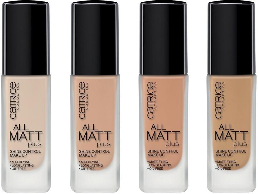 Langanhaltende matte Foundation - Catrice All Matt Plus Shine Control Make Up — Bild N2