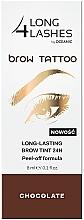 Düfte, Parfümerie und Kosmetik Langanhaltende Augenbrauentinte - Long4Lashes Brow Tattoo Long Lasting Brow Tint 24h