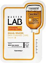 Düfte, Parfümerie und Kosmetik Tuchmaske mit Schneckenschleim - Tony Moly Master Lab Snail Mucin Mask