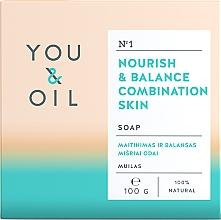 Düfte, Parfümerie und Kosmetik Nährende und ausgleichende Seife für Mischhaut - You & Oil Nourish & Balance Combination Skin