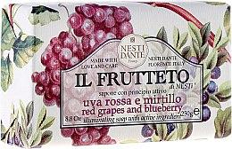 """Düfte, Parfümerie und Kosmetik Seife """"Rote Trauben und Heidelbeeren"""" - Nesti Dante Il Frutteto"""
