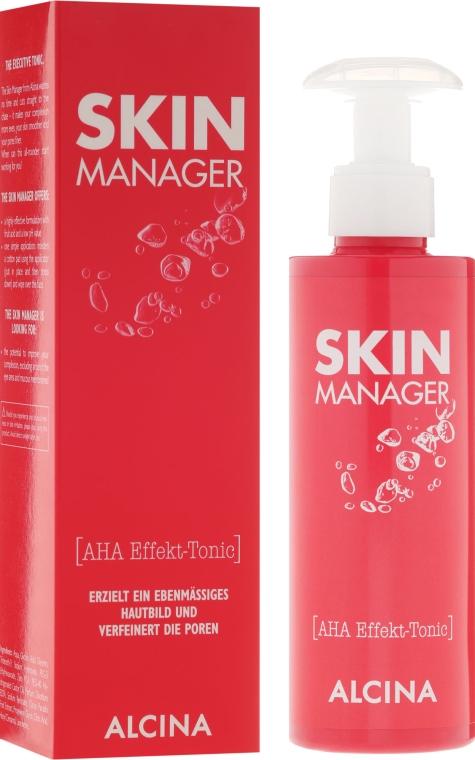 Gesichtstonikum gegen Falten und Pigmentflecken mit Fruchtsäuren - Alcina Skin Manager Tonic