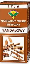 Düfte, Parfümerie und Kosmetik Natürliches ätherisches Sandelholzöl - Etja