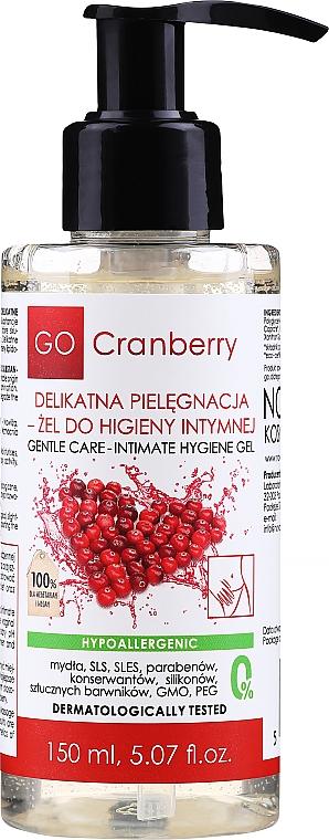 Gel für die Intimhygiene - GoCranberry Intimate Gel