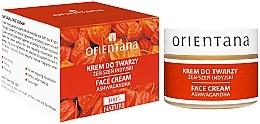 Düfte, Parfümerie und Kosmetik Gesichtscreme mit indischem Kraftwurz - Orientana Face Cream Ashwagandha