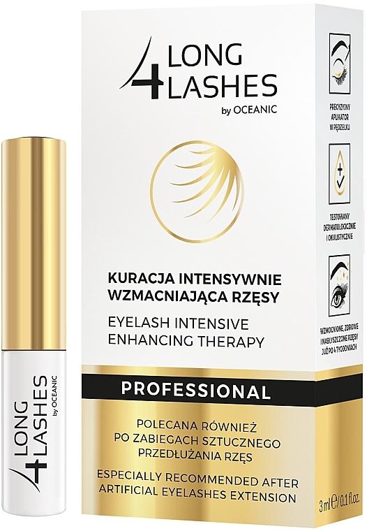 Intensiv stärkende Wimpernbehandlung - Long4Lashes Eyelash Intensive Enhancing Therapy