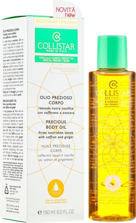 Straffendes Körperöl mit Safran und Ingwer - Collistar Precious Body Oil Firms Nourishes Tones