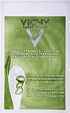 Düfte, Parfümerie und Kosmetik Beruhigende Gesichtsmaske mit Aloe vera, Süßholzwurzelextrakt und Thermalwasser - Vichy Mineral Masks Soothing Aloe Vera Mask
