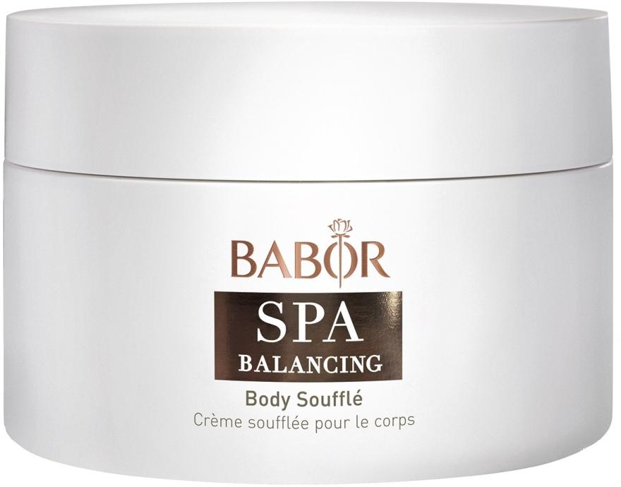 Sahnige und zartschmelzende Körpercreme mit Duftkomposition aus Bergamotte, Zedernholz und Vanille - Babor Balancing Body Souffle