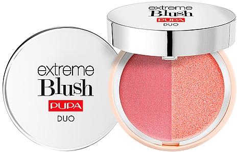 Kompaktes Gesichtsrouge Duo - Pupa Extreme Blush Duo
