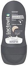 Düfte, Parfümerie und Kosmetik Deo Roll-on Antitranspirant - Lactovit Men Invisible Deodorant Roll-On