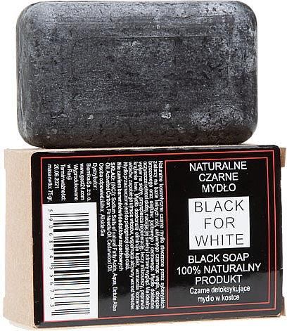 100% Natürliche schwarze Seife - Biomika Black For White