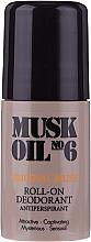Düfte, Parfümerie und Kosmetik Roll-on Deodorant - Gosh Musk Oil No.6 Roll-On Deodorant