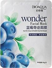 Düfte, Parfümerie und Kosmetik Energetisierende Gesichtsmaske mit Heidelbeere - Bioaqua Wonder Facial Mask